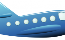 Artist's impression of an aircraft in flight