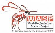The Woodside Australian Science Project logo