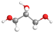 An artist's impression of an organic molecule
