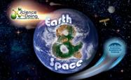 Earth and space cover